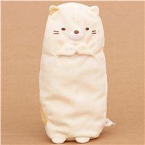 San-X Sumikkogurashi shy beige cat pencil case - Pencil ...