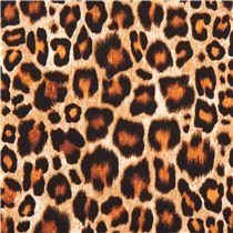 schwarzer brauner leopard punkte tierhaut muster michael miller stoff tierstoffe stoffe. Black Bedroom Furniture Sets. Home Design Ideas