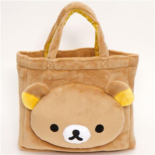 Cute Rilaka Bear Plush Handbag Purses Handbags Bags